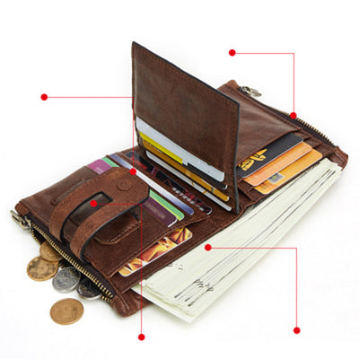 Men's RFID Card Holder Wallet