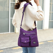 Large Capacity Waterproof Travel Shoulder Bag Crossbody Bag