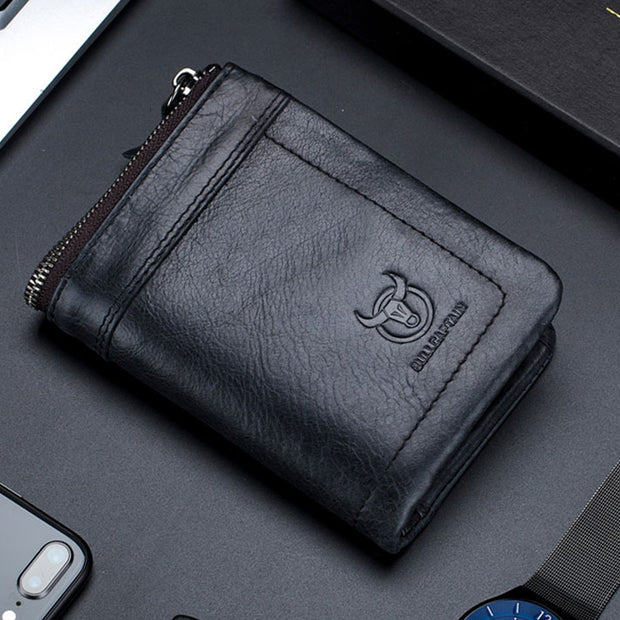 RFID Blocking Multi-slot Wallet With Coin Pocket(BUY 2 GET 15% OFF,CODE:B2)