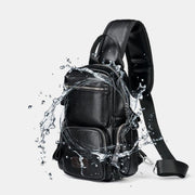 Large Capacity Waterproof Chest Bag Sling Bag