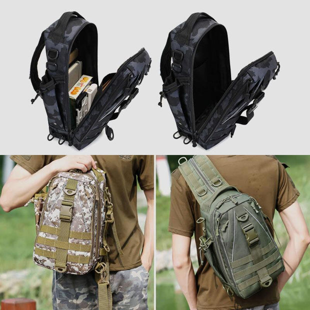 Multifunction Tactical Backpack Casual Sling Crossbody Bag
