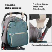 Nursing Backbag With Portable Bassinet