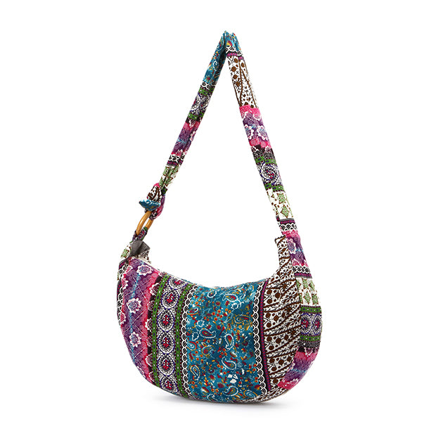 Women's Floral Ethnic Style Tote