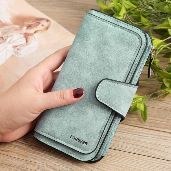 Retro Glamorous Multiple Slots Women Wallets