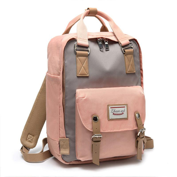 Large Capacity Cute Waterproof Travel School Backpack
