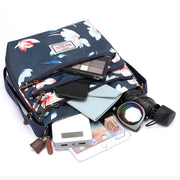 Waterproof Multi-layer Messenger Bag