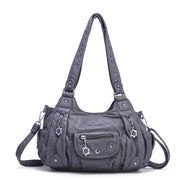 Multi-Pocket Travel Messenger Shoulder Bag