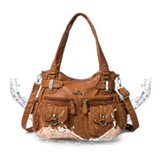 Women's Vintage Large Capacity Hobo Bag