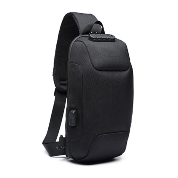 Anti-theft Waterproof Solid Crossbody Bag