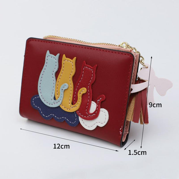 Multifunctional Cute Kitty Little Purse