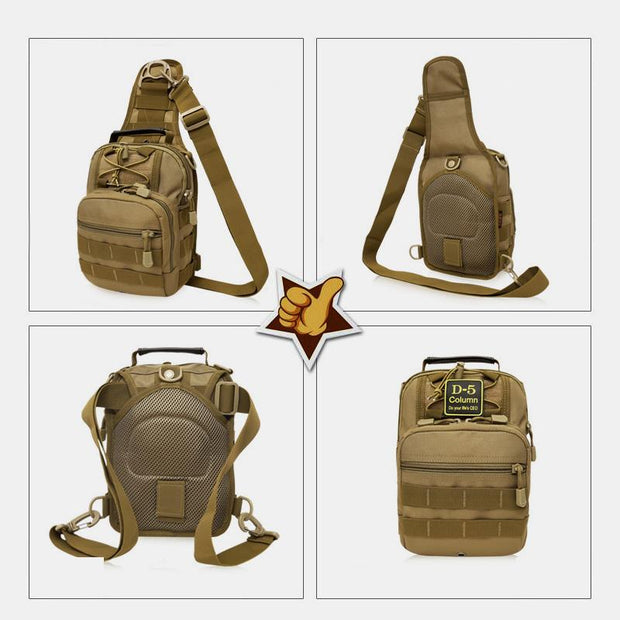 4-way Use Camouflage Multifunctional Outdoor Sling Bag