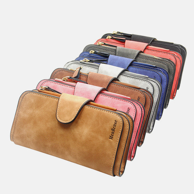 Retro Glamorous Multi-Slots Women Wallet