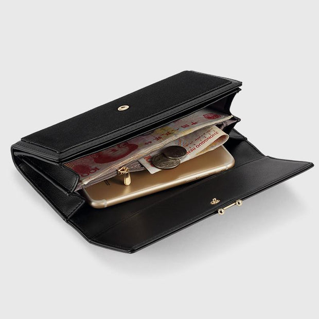 Classic Large Capacity Purse For Lady