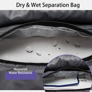Waterproof Laptop Backpack With Dry & Wet Separation Package