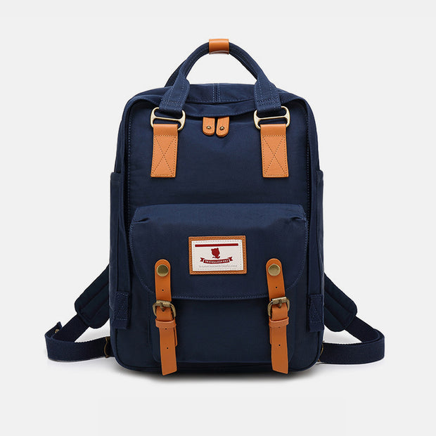 Waterproof College Style Vintage Travel Backpack