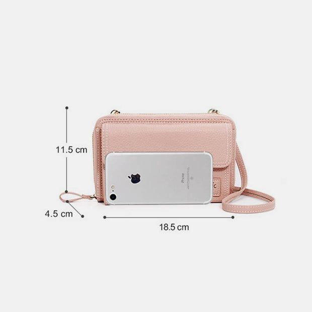 Casual Large Capacity Handbag Crossbody Phone Purse