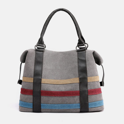 Large Capacity Multicolor Handbag Tote Bag
