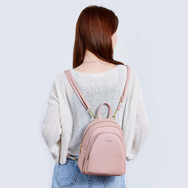 High Capacity Casual Small Backpack