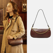 Retro Classic Clutch Shoulder Baguette Tote HandBag