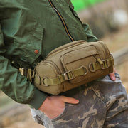 Multifunctional Large Capacity Camo Military Waist Bag