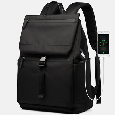Lightweight USB Charging Water-Resistant Large Laptop Bagpack