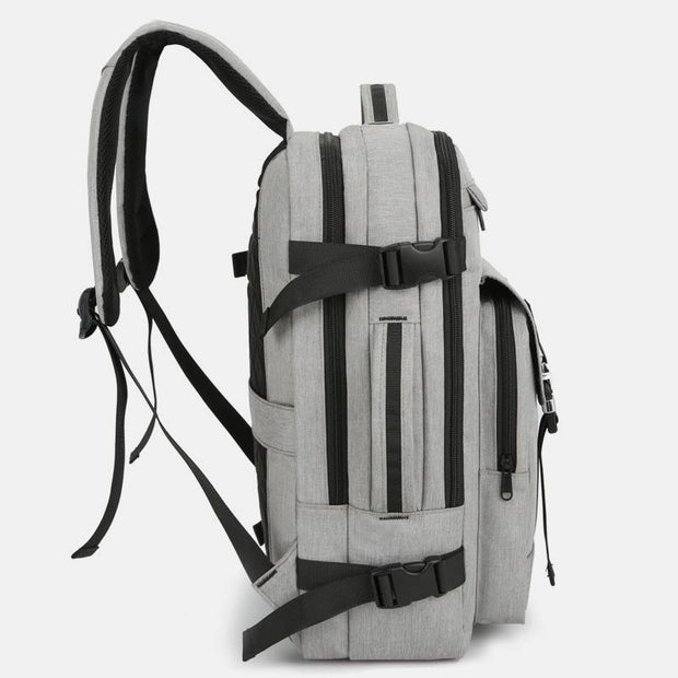 Lightweight Waterproof Travel Backpack With Charging Port