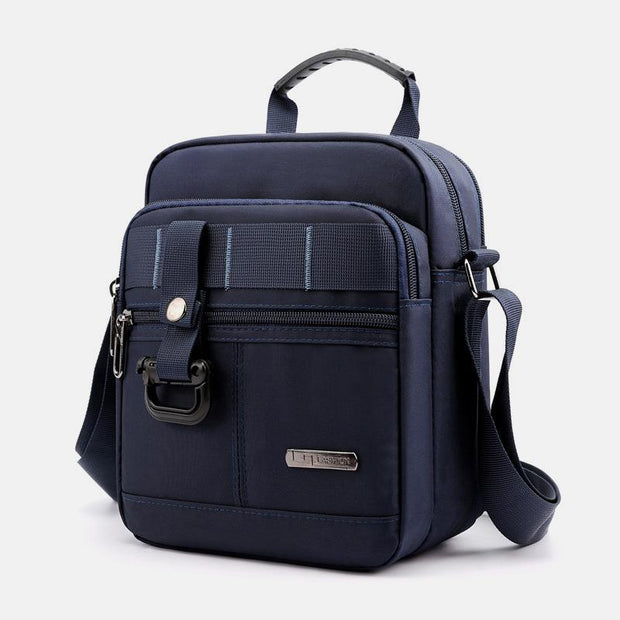 Waterproof Lightweight Multi-Pocket Messenger Bag