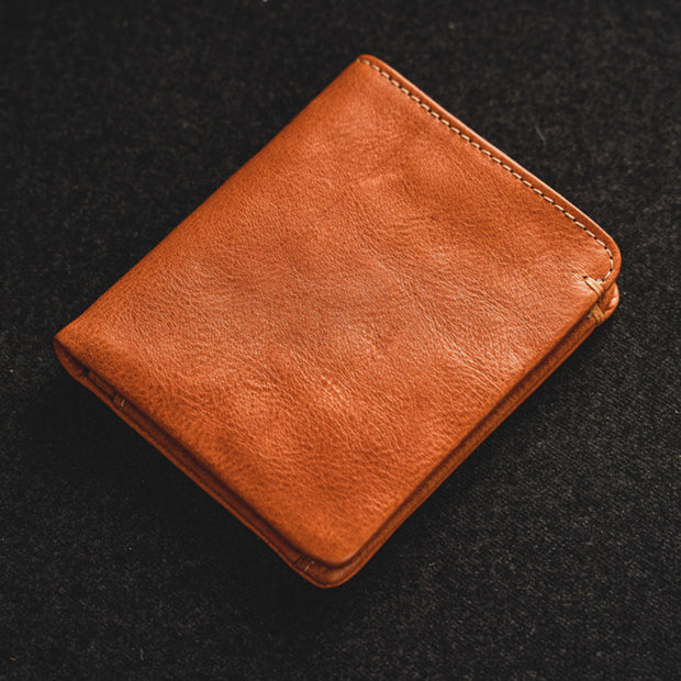 Genuine Leather Retro Casaul Wallet