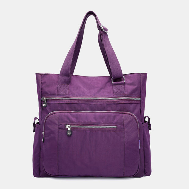 Large Capacity Water-Resistant Travel Handbag