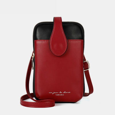 Simply Fashion Color Block Phone Bag
