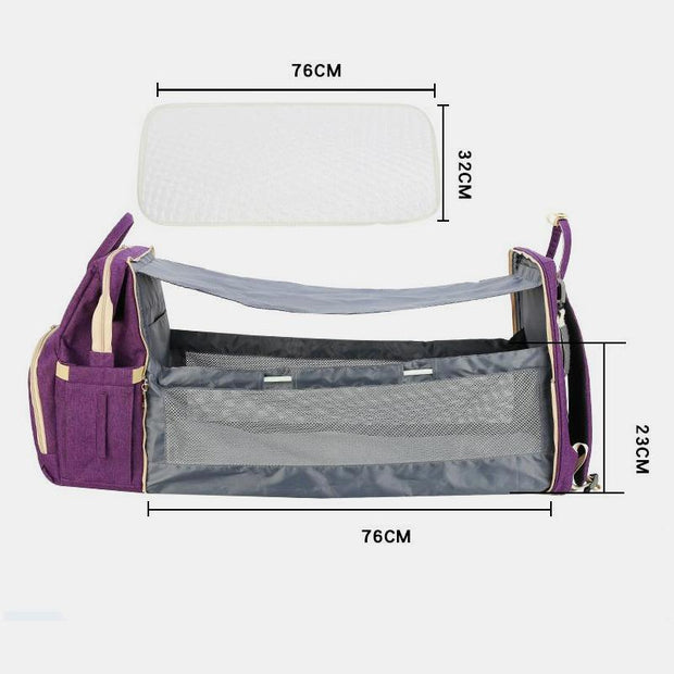 Portable Bassinet Bag + FREE Comfymattress And Stroller Strap