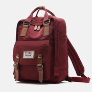 Large Multi-Pocket College Vinatge Travel Bakcpack