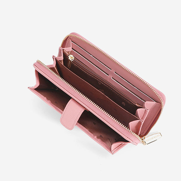 Large Capacity Multi-Compartment Elegant Wallet