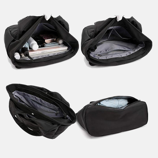 Waterproof Multi-Compartment Dry Wet Separation Shoulder Bag