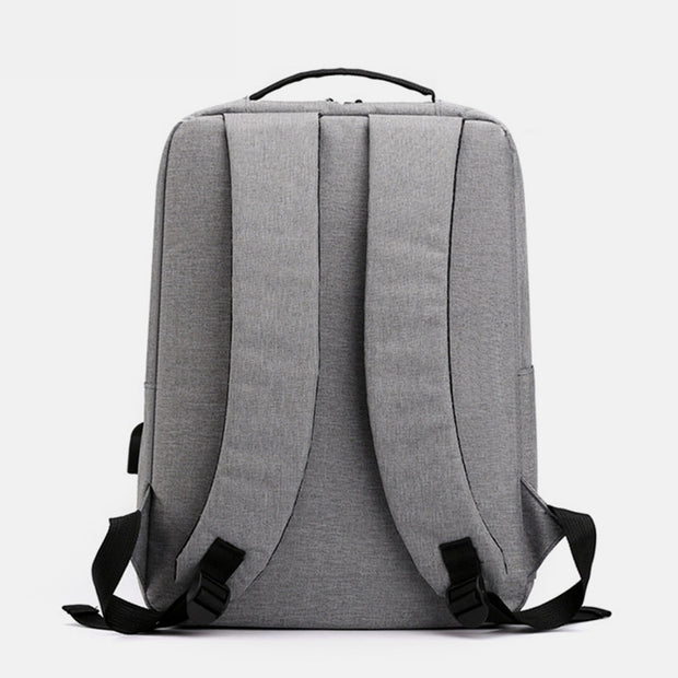USB Large Capacity Wear-Resistant 15.6-Inch Computer Bag Backpack