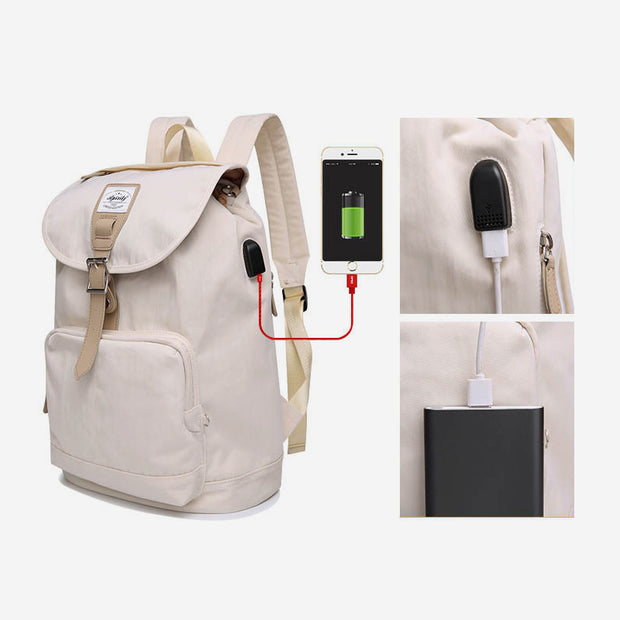 Anti-theft Large USB Charging Laptop Backpack
