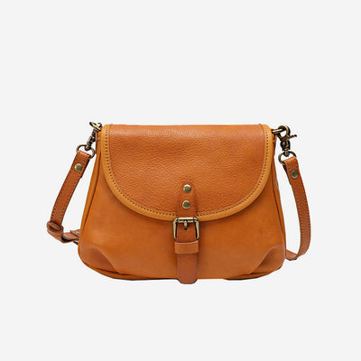 Retro Handmade Vintage Large Capacity Crossbody Bag