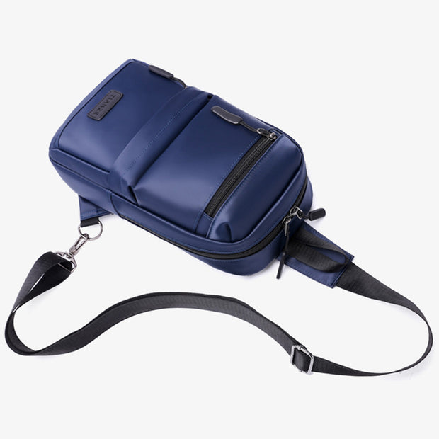Outdoor USB Large Capacity Sling Bag Crossbody Bag