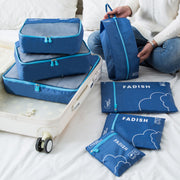 7PCS Travel Storage Bag Luggage Organizer