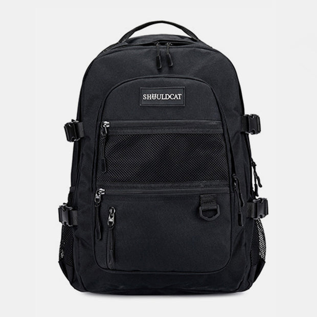 Large Waterproof Multi-Compartment School Backpack