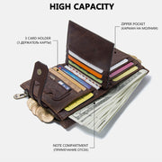 Genuine Leather Casual Vintage Wallet