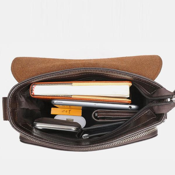Waterproof Large Capacity Business Crossbody Bag