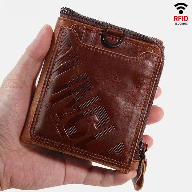 RFID Blocking Reteo Credit Card Holder With Detachable Pocket