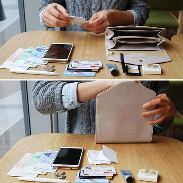 Multifunctional 6inch Phone Bag Wallet Card Holder Purse