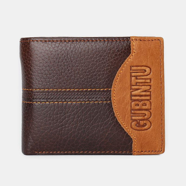 Large Capacity Multi Card Leather Wallet