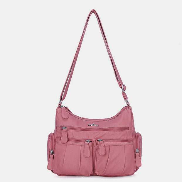 Waterproof Multi-Pocket Shoulder Bag Crossbody Bag