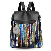 Anti-theft Vintage Ethnic Style Backpack