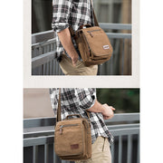 Casual Multifunctional Business Retro Crossbody Bag