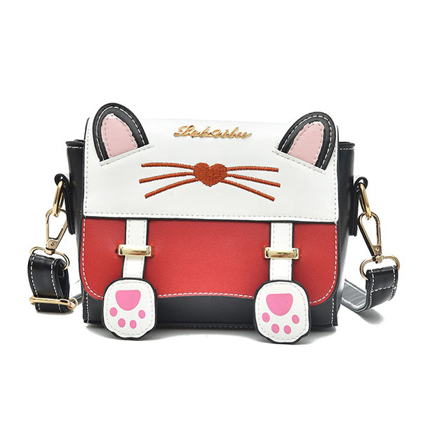 Cat Pattern Cartoon Backpack