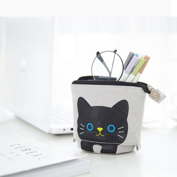 Cute Cat Pattern Appealable Storage Bag